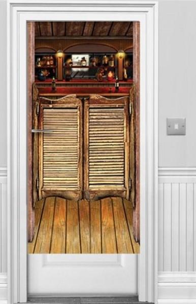 Western Saloon Türposter 1,52m