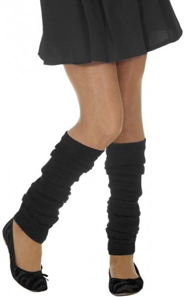 Schwarze Warmera Beinstulpen 1
