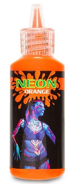 Neon Körper Make Up Orange