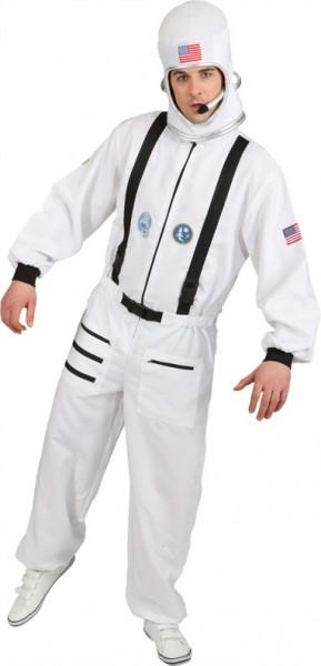 Weltraum Astronauten Kostüm für Herren