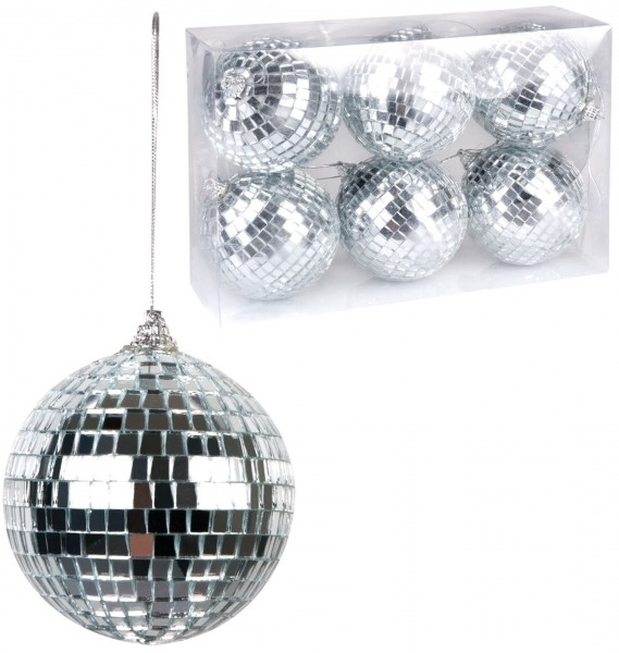 6-teiliges Disco Kugeln Mini Set