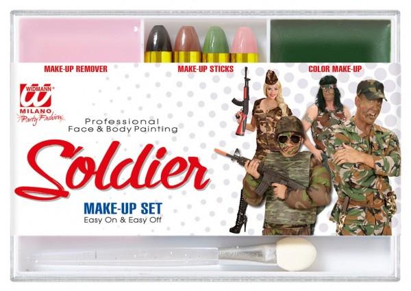 Set di trucco professionale del soldato