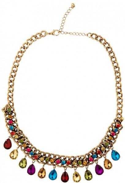 Goldene Wahrsagerin Orient Halskette