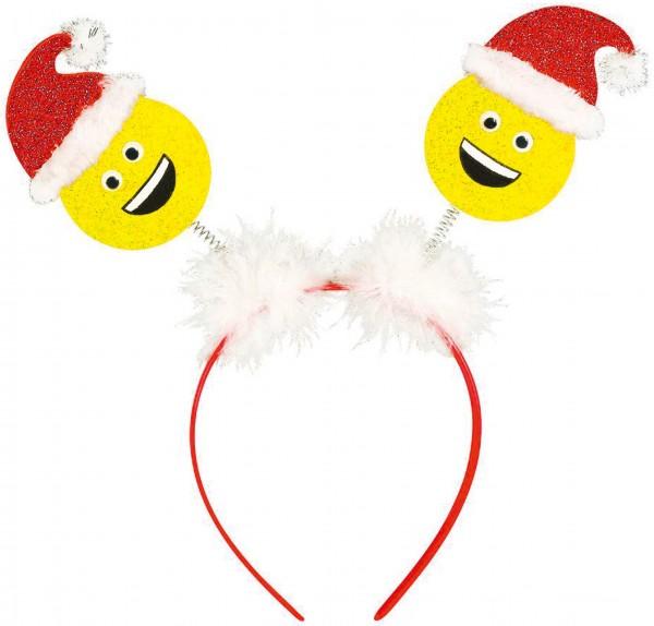 Smiling Santa Haarreif