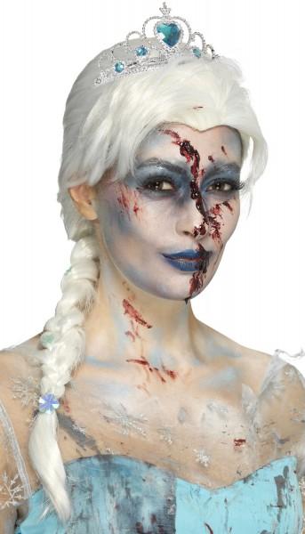 Frozen Zombie Princess Perücke
