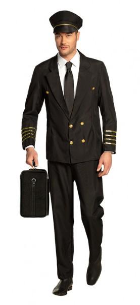 Elegantes Piloten Herrenkostüm Willem