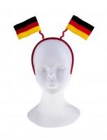 Haarreifen mit Deutschlandflaggen