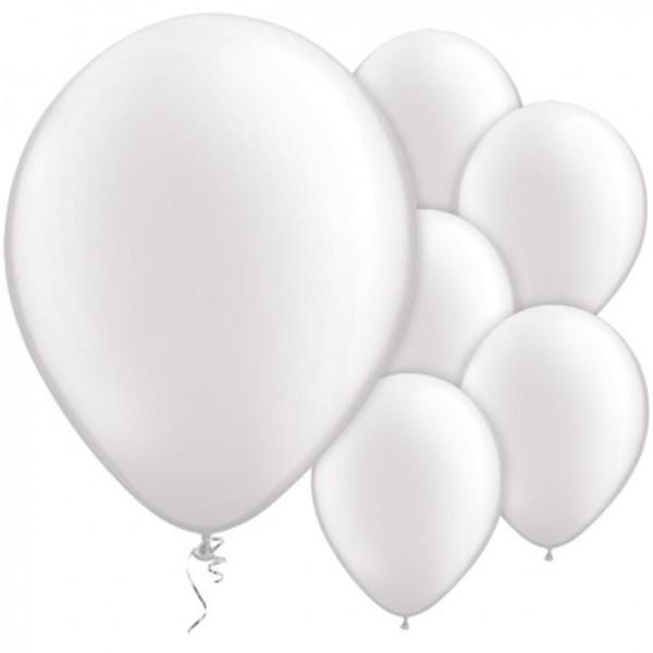 100 Weiße Luftballons Passion 28cm